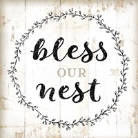 Bless Our Nest Fine-Art Print