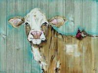 Cow with Friends Fine-Art Print