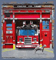 Fire House Fine-Art Print
