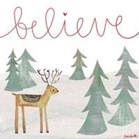 Believe Reindeer Fine-Art Print