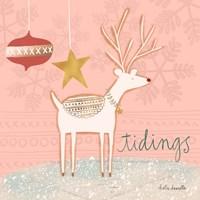 Reindeer Tidings Fine-Art Print