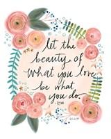 Rumi Quote Fine-Art Print