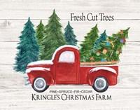 Kringle's Christmas Farm Fine-Art Print