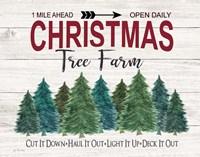 Deck It Out Christmas Tree Farm Fine-Art Print
