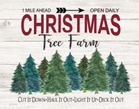 Deck It Out Christmas Tree Farm Fine-Art Print