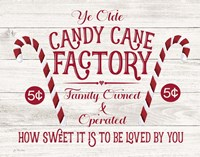 Candy Cane Factory Fine-Art Print