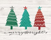 Merry & Bright Trees Fine-Art Print