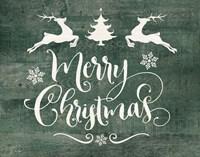 Merry Christmas Deer Fine-Art Print