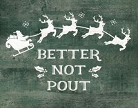 Better Not Pout Fine-Art Print