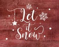 Let It Snow Fine-Art Print