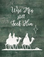 Wise Men Still Seek Him Fine-Art Print