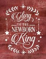 Glory to the Newborn King Fine-Art Print