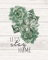 Let's Stay Home Fine-Art Print