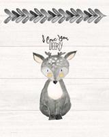 I Love You Deerly Fine-Art Print