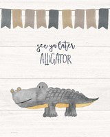 Later Alligator Fine-Art Print