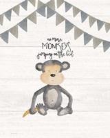 No More Monkeys Fine-Art Print