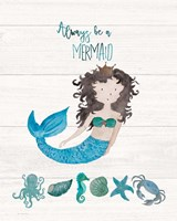Be A Mermaid Fine-Art Print