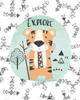 Explore Tiger Fine-Art Print