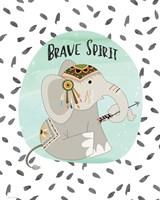 Brave Elephant Fine-Art Print