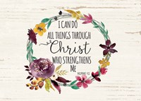All Things Through Christ Fine-Art Print