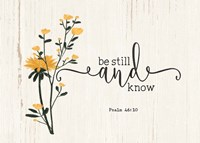 Be Still & Know Fine-Art Print