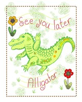 See You Later Alligator Fine-Art Print