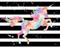 Unicorn Stripes Fine-Art Print