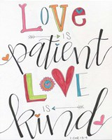 Patient and Kind Fine-Art Print