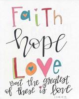 Faith, Hope, Love Fine-Art Print