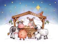 Animal Nativity Fine-Art Print
