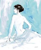 Nude II Blue Fine-Art Print