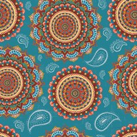 Mandala Dream Pattern IA Fine-Art Print