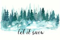 Let It Snow Fine-Art Print