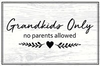 Grandkids Only Fine-Art Print