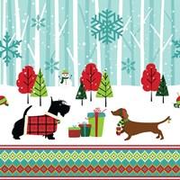 Winter Pet Scene Fine-Art Print