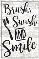 Brush, Swish, Smile Fine-Art Print