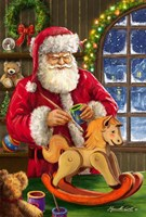 Santa's Magic Touch Fine-Art Print