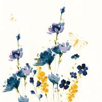 Blue Floral Fine-Art Print