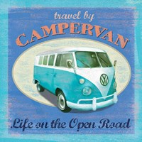 VW Camper Poster Fine-Art Print