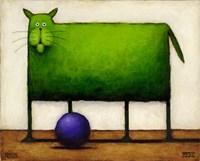 Green Trouble I Fine-Art Print