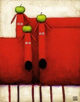 Tres Amigos Art Fine-Art Print