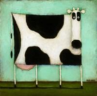 Turquoise Cow Fine-Art Print