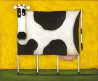 Yellow Cow Fine-Art Print