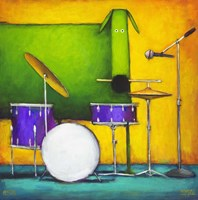 Drum Dog Fine-Art Print