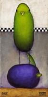 Eggplant Bird Fine-Art Print