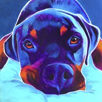 Rottie - Dexter 2 Fine-Art Print