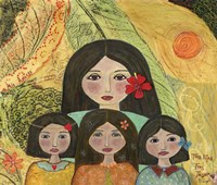 Mother Of Three Girls Fine-Art Print