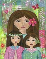 Madre Y 2 Hijas Fine-Art Print