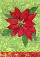 Poinsettia Collage Flag Fine-Art Print