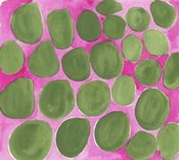 Pebbles Green Fine-Art Print